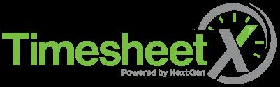 TimesheetX logo