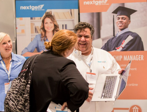 Next Gen Attends Annual Conference for Community College Advancement